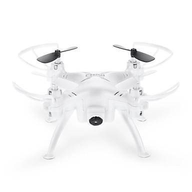 RC Drone TKKJ TK106RHW Canal 4 2.4G Com 0.3MP HD Camera 0.3 Quadcópero com CR Luzes LED Quadcóptero RC Cabo USB Chave de Fenda Hélices