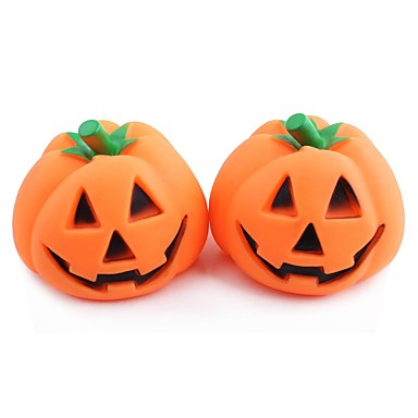 Plush Toy Squeaking Toy Halloween Pumpkin Rubber For Dog Puppy