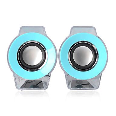 EARISE AL-102  Speaker 2.0  Channel Laptop Notebook Speaker USB Jack