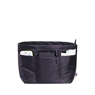 Women Storage Bag Nylon All Seasons Casual Rectangle Without Zipper Black Fuchsia Coffee khaki
