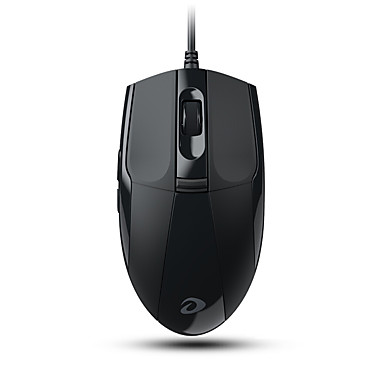 Dareu LM102 6Keys 1200DPI USB Wired Office Mouse with 150CM Cable