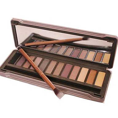 12pcs Auge Lidschatten Puder Smokey Makeup / Party Make-up / Alltag Make-up