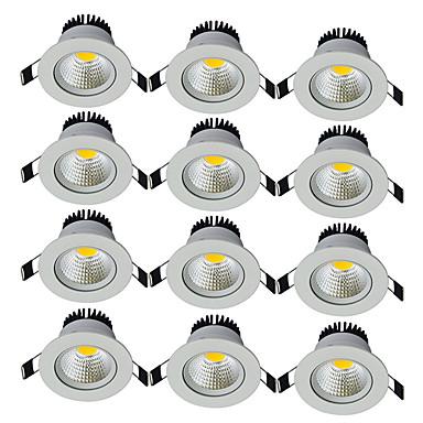 JIAWEN 7W 1 LEDs Decorativa Downlight de LED Branco Quente Branco Frio 85-265V