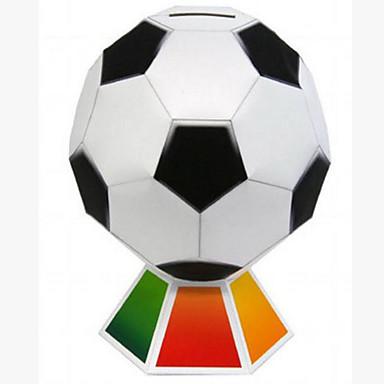 3D Puzzles Balls Paper Model Toy Football Paper Craft Model Building Kit Football DIY Classic Kid's Men's Gift