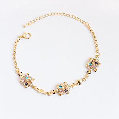 Women's Synthetic Diamond Chain Bracelet / Tennis Bracelet - Animal Bracelet Gold For Christmas Gifts / Party / Birthday