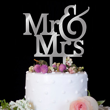 Cake Topper Birthday Wedding High Quality Plastic Birthday Party Evening with 1 PVC Bag