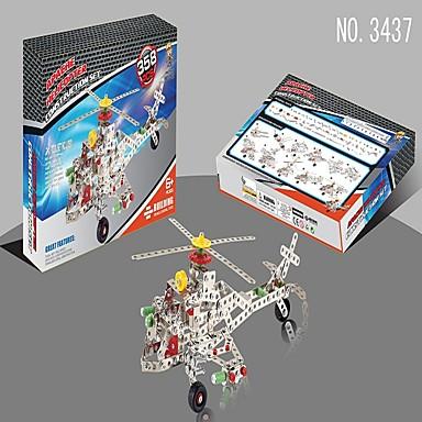 Quebra-Cabeças de Metal Aeronave Helicóptero Legal Unisexo Brinquedos Dom
