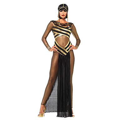 Egyptian Costume Queen Goddess Cleopatra Cosplay Costume Party Costume Women's Halloween Carnival Festival / Holiday Halloween Costumes
