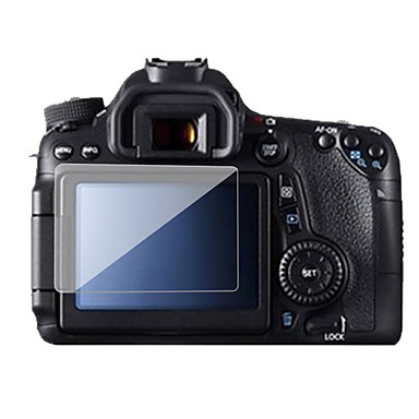 Dengpin Anti-scratch Explosion Proof Tempered Glass Screen Protector Film for Canon EOS 70D