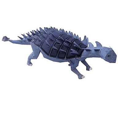 Quebra-Cabeças 3D Maquetes de Papel Quadrada Dinossauro Faça Você Mesmo Cartão de Papel Duro todas as Idades