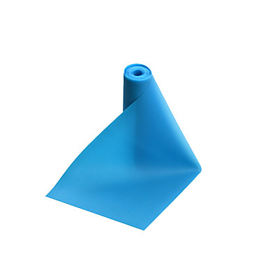 Trainingsbänder TPE Multifunktion Krafttrainung Yoga Fitnessstudio Himmelblau Grün Rosa