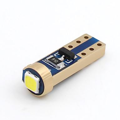 SO.K 10pcs T10 Autó Izzók 2 W SMD 3030 100 lm LED Irányjelző For Univerzalno