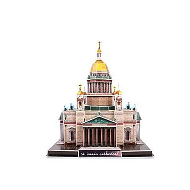 voordelige 3D-puzzels-3D-puzzels Legpuzzel Modelbouwsets Beroemd gebouw Kerk (83 kathedraal EPS+EPU Russisch Unisex Speeltjes Geschenk