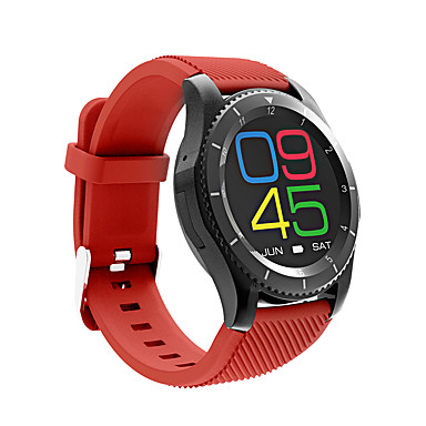 Smartwatch JSBPG8 for iOS / Android / IPhone Heart Rate Monitor / Blood Pressure Measurement / Calories Burned / Long Standby / Hands-Free Calls Pulse Tracker / Timer / Stopwatch / Pedometer