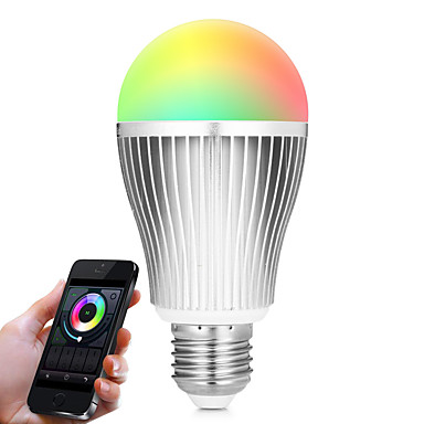 BRELONG® 9W 900lm E27 LED Smart Bulbs A60(A19) 20 LED Beads SMD 5730 WiFi Infrared Sensor Dimmable Light Control Remote-Controlled RGB