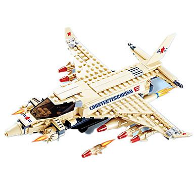 JIE STAR Blocos de Construir Brinquedos de Montar Pato Aeronave Unisexo Para Meninos Brinquedos Dom