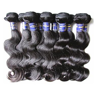 Peruvian Hair Body Wave Human Hair Natural Color Hair Weaves Human Hair Weaves Human Hair Extensions