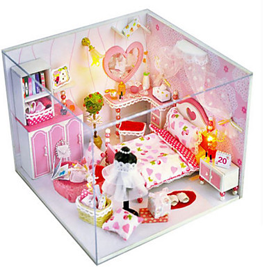 Model Building Kit DIY House Plastics Classic Pieces Girls' Unisex Gift