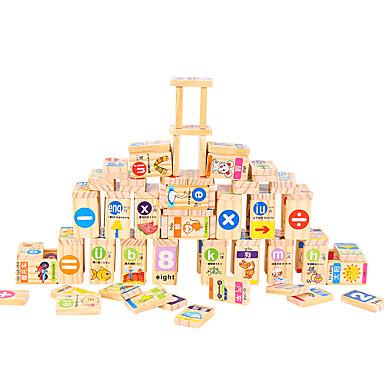 Blocos de Construir Brinquedos Matemáticos Quadrada Concorrência Dominó Crianças Brinquedos Dom