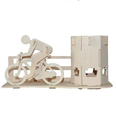Quebra-Cabeças 3D Quebra-Cabeça Brinquedos de Montar Outra 3D Faça Você Mesmo Madeira Natural Clássico 6 anos e acima