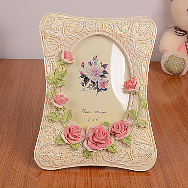 2 PC Picture Frames Modern/Contemporary Casual Novelty Rectangle Resin Random Color