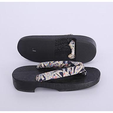 Damen Schuhe Baumwolle Stoff Frühling Herbst Cloggs & Pantoletten Cloggs & Pantoletten Für Normal Grau