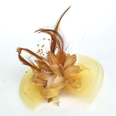 abordables Coiffes-Filet Fascinators / Chapeaux / Coiffure avec Fleur 1pc Mariage / Occasion spéciale Casque