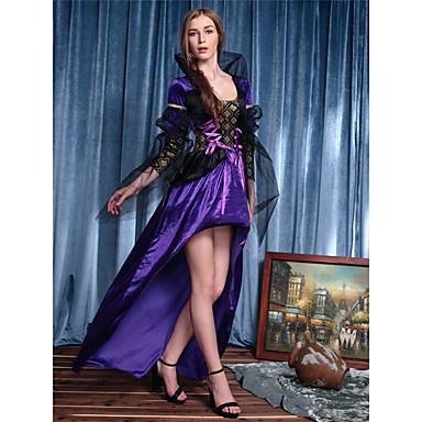 Cosplay Kostüme Maskerade Prinzessin Märchen Cosplay Fest/Feiertage Halloween Kostüme Vintage Kleider Halloween Karneval Frau Elastan