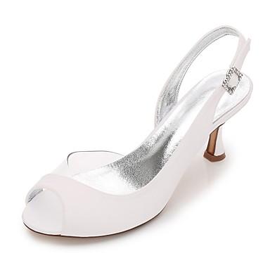 Bas mariage amp; Deux Eté 06096619 Confort Basique Femme Satin Chaussures Heel Chaussures de Printemps D'Orsay Pièces Kitten Escarpin Talon fxYwtOgqT