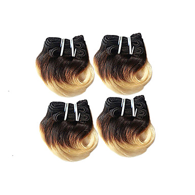 4 Bundles Brazilian Hair Body Wave Ombre Hair Weaves Human Hair Weaves Human Hair Extensions