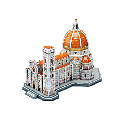 3D építőjátékok Fejtörő Népszerű épület Templom EPS+EPU Uniszex Ajándék