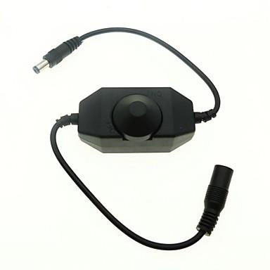 LED Dimmer Brightness Adjust Controller for DC12-24V Single Color LED Strip Dimming