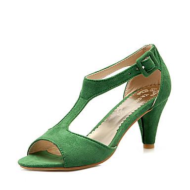 Chaussures 06096444 Cône Similicuir Talon Creuse Chaussures Femme Bourgogne Vert Evénement Soirée Bout amp; Eté ouvert formelles Sandales Rose F5dwTxfq0x