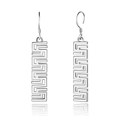 Női Ezüstözött Függők - elegáns / aranyos stílus / Divat Arany / Ezüst Geometric Shape Fülbevaló Kompatibilitás Karácsony / fokozatokra