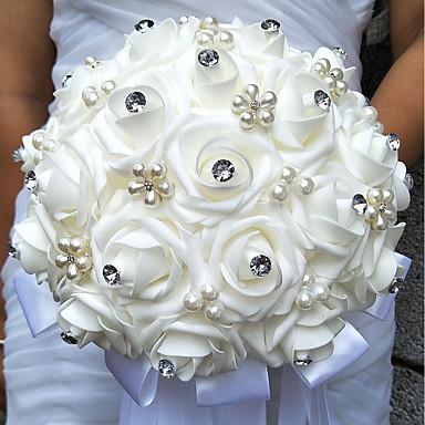 Wedding Flowers Bouquets Wedding Bead / Foam 9.84
