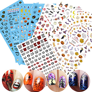 1 pcs 3D Nail Stickers Nail DIY Tools Full Nail Stickers nail art Manicure  Pedicure 3D Fashion Daily 4a9e4d79337f