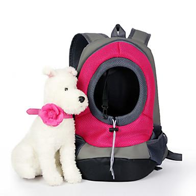 ราคาถูก อุปกรณ์สำหรับสัตว์เลี้ยง-แมว สุนัข ให้บริการ & เป้เดินทาง สัตว์เลี้ยง ตะกร้า สีพื้น Portable ระบายอากาศ สีเขียว ฟ้า สีชมพู สำหรับสัตว์เลี้ยง