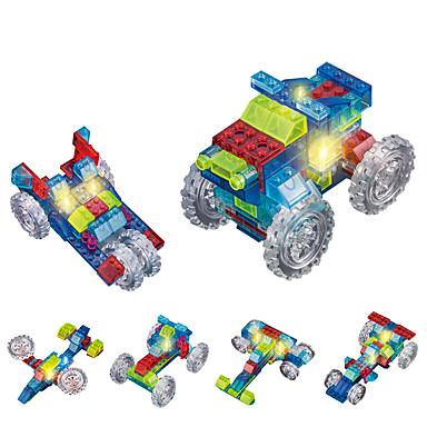 DOUZHI Spielzeug-Autos LED - Beleuchtung Bausteine Bildungsspielsachen 74pcs LKW Lastwagen Unisex Geschenk