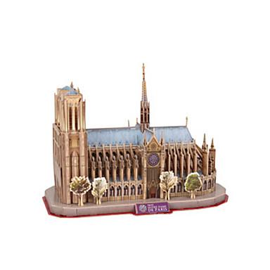 voordelige 3D-puzzels-3D-puzzels Modelbouwsets Beroemd gebouw Notre Dame in Parijs kathedraal EPS+EPU Unisex Speeltjes Geschenk
