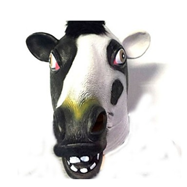 Halloween Mask / Animal Mask Party Cow / Horror Latex / Rubber / Glue Pieces Unisex Adults' Gift