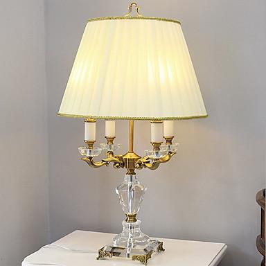 Tiffany Crystal Table Lamp For Metal 220-240V