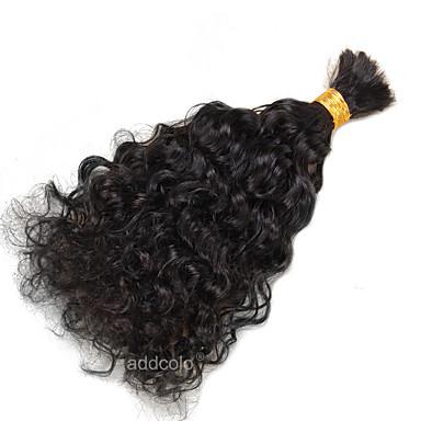 Brazil haj Göndör / Kinky Curly Emberi haj sző 1 darab Bundle Hair