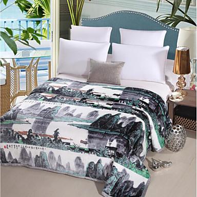 Superweich Bemalt Polyester Decken