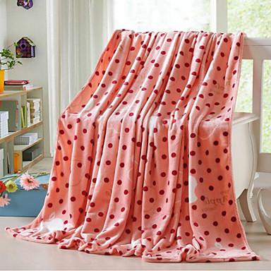 Superweich, Bedruckt Geometrisch Polyester Decken