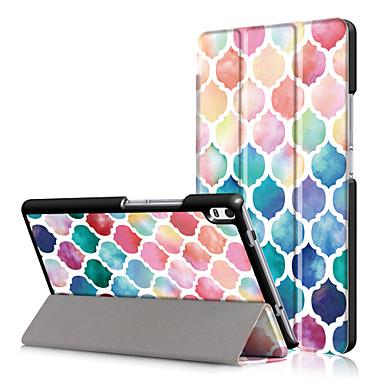 طباعة حالة تغطية لينوفو tab4 التبويب 4 8 زائد تب-8704f تب-8704n 8704 مع حامي الشاشة