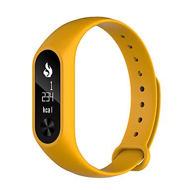 Pulseira inteligente Tela de toque Monitor de Batimento Cardíaco Impermeável Calorias Queimadas Pedômetros Tora de Exercicio Distancia de