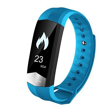 Smart-Armband Touchscreen Herzschlagmonitor Wasserdicht Verbrannte Kalorien Schrittzähler Übungs Tabelle Distanz Messung APP-Steuerung