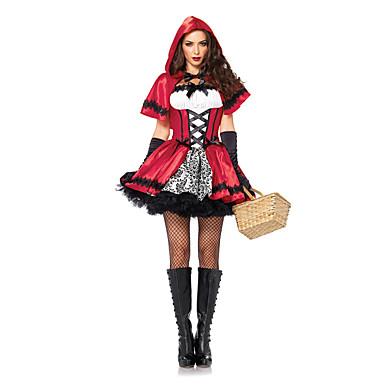 Cosplay Kostüme Maskerade Märchen Film/Fernsehen Thema Kostüme Fest/Feiertage Halloween Kostüme Vintage Kleider Umhang Halloween Karneval