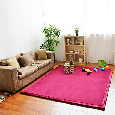 Area Rugs Casual / Modern Polyester, Rectangle Superior Quality Rug / Non Skid