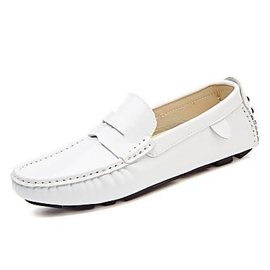 Férfi cipő Lakkbőr Tavasz / Ősz Kényelmes Papucsok & Balerinacipők Fekete / Piros / Kék